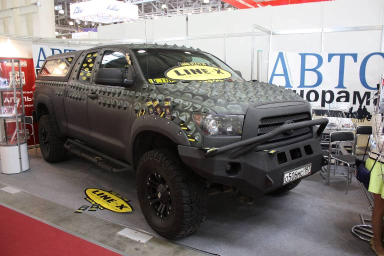 Toyota Tundra Dino Moscow Offroad Show 2015