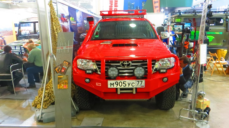 Toyota Hilux Pickup Moscow Offroad Show 2015