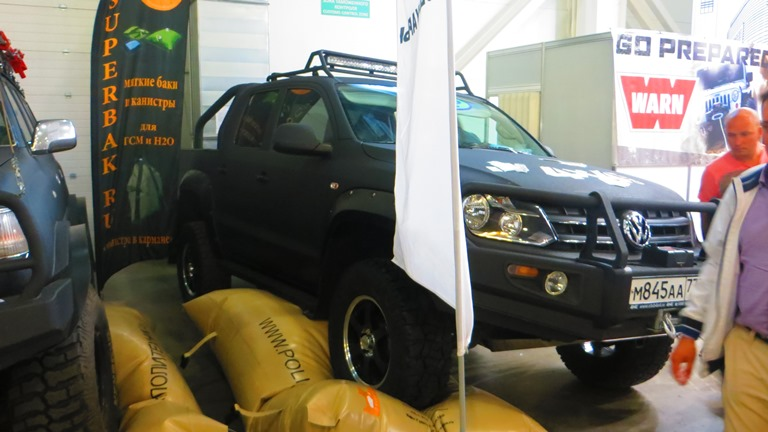 VW Amarok Pickup Moscow Offroad Show 2015