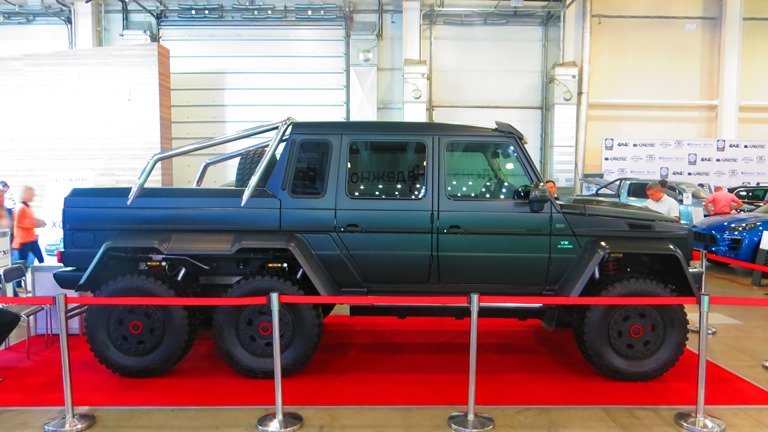 BRABUS AMG Mercedes 6x6 Moscow Offroad Show 2015