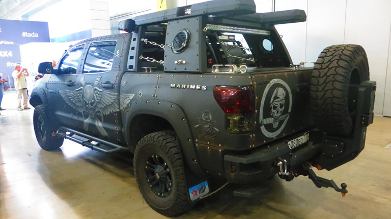 Marines Pickup Moscow Offroad Show 2015