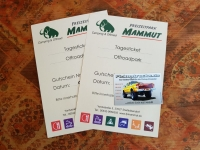 3 Tagestickets Offroadpark Mammut